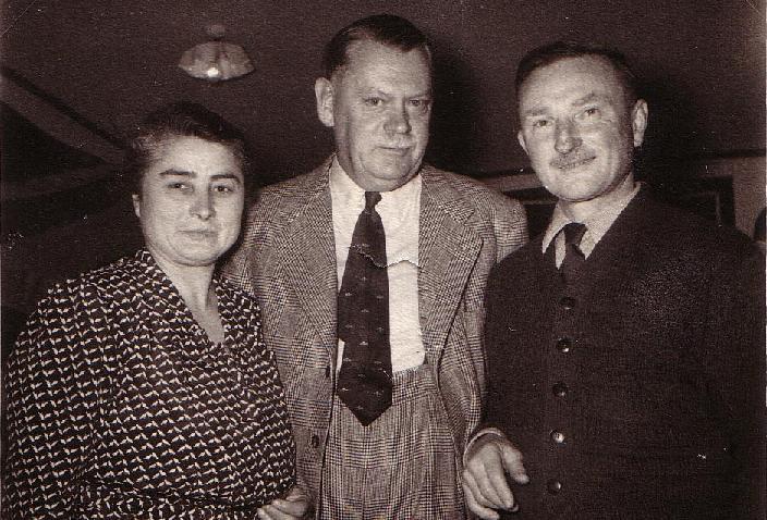 Les époux Gondrée et le Général Gale