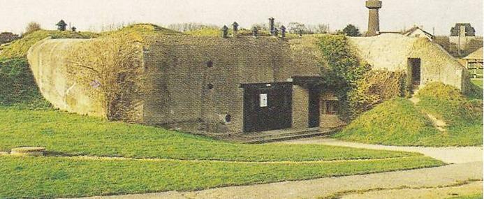 Batterie de Merville : remise en état dès 1977 par l'ASPEG