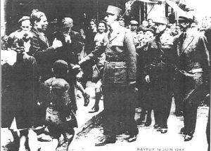 Claude Feutry et le Général de Gaulle