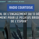 Engagement de l'ASPEG pour Pegasus Bridge